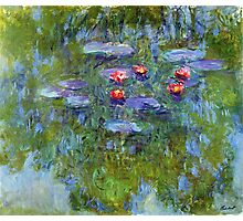 Claude Monet - Water Lilies 1919 1 Photographic Print