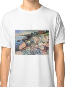 Edvard Munch - Shore With Red House Classic T-Shirt