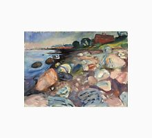 Edvard Munch - Shore With Red House Unisex T-Shirt