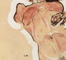 Egon Schiele - Female Nude 1910 Sticker