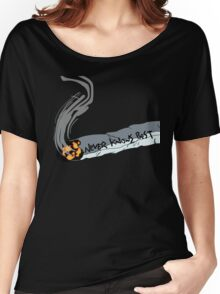FLCL - Never Knows Best Cigarette 2 Women's Relaxed Fit T-Shirt