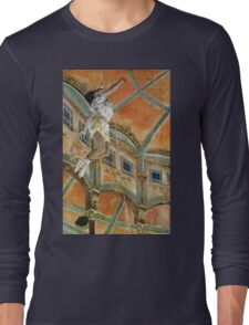 Edgar Degas - Miss La La At The Cirque Fernando Long Sleeve T-Shirt