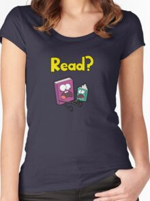 READ? Women's Fitted Scoop T-Shirt