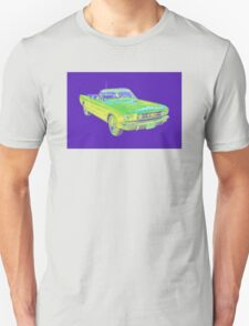 1965 Ford Mustang Convertible Pop Image T-Shirt