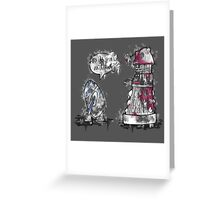 Are you my mummy? - watercolor version Greeting Card