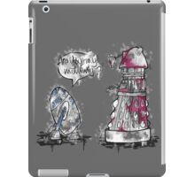 Are you my mummy? - watercolor version iPad Case/Skin