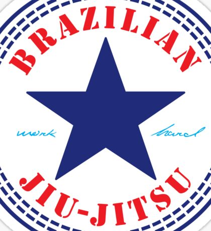 Brazilian Jiu Jitsu Sticker