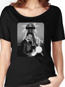 Mr. Clark as Nikola Tesla Women's Relaxed Fit T-Shirt