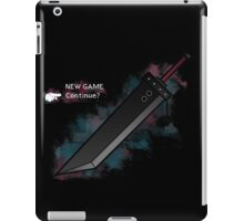 Continue? iPad Case/Skin