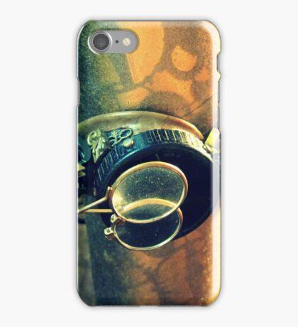 Steampunk Goggles 2.0 iPhone Case/Skin