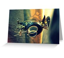 Steampunk Goggles 2.0 Greeting Card