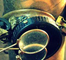 Steampunk Goggles 2.0 Sticker