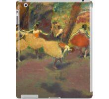 Edgar Degas - Before The Performance iPad Case/Skin