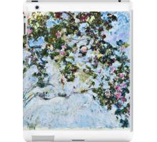 Claude Monet - Roses 1825  iPad Case/Skin
