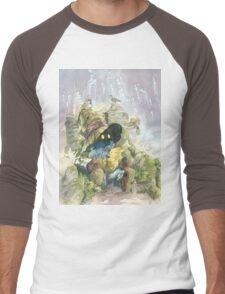 Vivi & Chocobo Men's Baseball ¾ T-Shirt