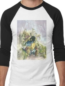 Vivi & Chocobo Men's Baseball ¾ T-Shirt