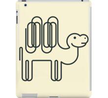 Paper Clip Camel iPad Case/Skin