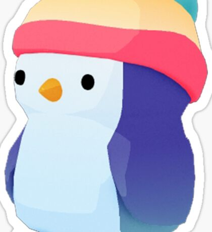 Lonely Penguin Sticker