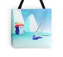Lonely Penguin Tote Bag