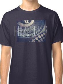 Vintage Typewriter Retro Hipster Design  Classic T-Shirt