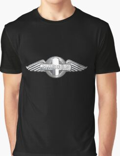 Morgan Vintage Cars UK Graphic T-Shirt