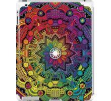 "Mandala 59 ""Time Dilation"" Rainbow Multicoloured iPad Case/Skin"