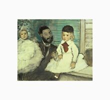 Edgar Degas - Comte Le Pic And His Sons Unisex T-Shirt