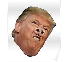 Trump Pig Poster