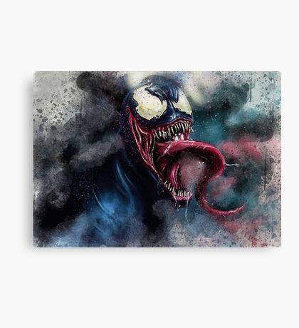 Venom Villain Marvel  Canvas Print