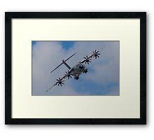 A400M Atlas military transport aircraft Framed Print