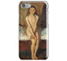Edvard Munch - Puberty iPhone Case/Skin