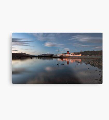 Loch Lomond Shores Metal Print