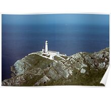 South Stack Lighthouse,Wales Poster