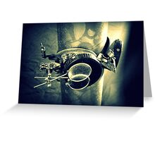 Steampunk Goggles 2.2 Greeting Card