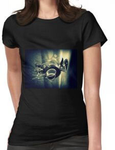 Steampunk Goggles 2.2 Womens Fitted T-Shirt