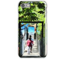 rope bridge I - puente colgante iPhone Case/Skin