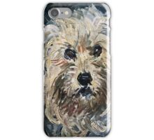 Claude Monet - Detail Of Yorkshire Terrier From Eugenie Graff (Madame Paul) 1881  iPhone Case/Skin