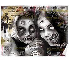 zombie girls Poster