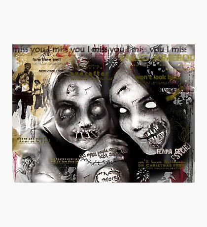 zombie girls Photographic Print