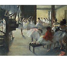 Edgar Degas - The Dance Class Photographic Print