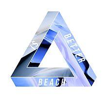 BEACH IS BETTER. by Gerard López Pie