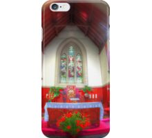 The red chapel iPhone Case/Skin