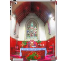 The red chapel iPad Case/Skin