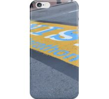 Boston Marathon Finish Line iPhone Case/Skin