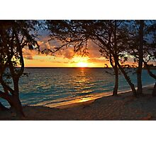 Sunrise at Kailua Beach Photographic Print