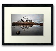 Stob Coire Raineach Framed Print