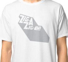 Zig-A-Zig-Ah (Grey) Classic T-Shirt