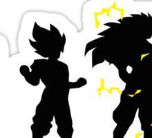 Dragonball Z Super Saiyan Evolution God Sticker
