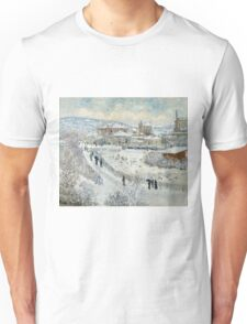 Claude Monet - View Of Argenteuil In The Snow Unisex T-Shirt