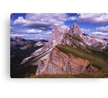 Incredible Mountains Canvas Print